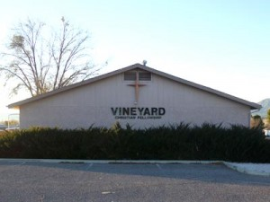 Cottonwood Vineyard building