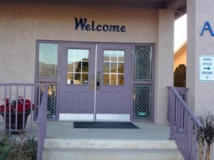 Cottonwood Vineyard Front Doors